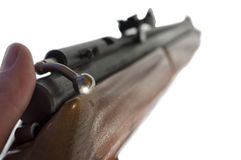 Rifle Isolated Royalty Free Stock Images