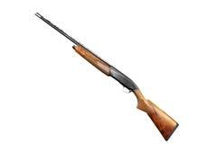 Rifle isolated on white Stock Images