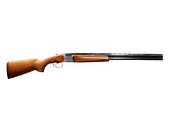 Rifle isolated on white. Shotgun rifle isolated on white Stock Photography