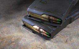 Rifle magazines Stock Photography
