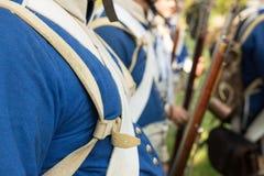 Rifle Napoleonic era. Pageants celebrations nineteenth century Napoleon's military campaign in Italy Stock Photos