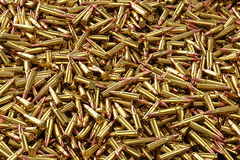Rifle rounds 7.62x39mm Royalty Free Stock Photos