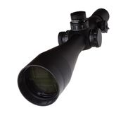 Rifle scope Royalty Free Stock Photo