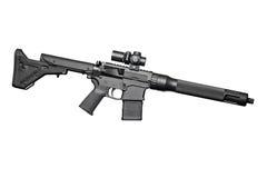 Rifle semiautomático del asalto Fotos de archivo libres de regalías