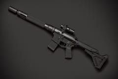 Rifle semiautomático del asalto Imagenes de archivo