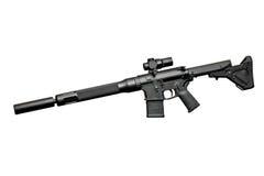 Rifle semiautomático del asalto Fotografía de archivo libre de regalías