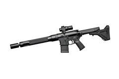 Rifle semiautomático do assalto Fotografia de Stock