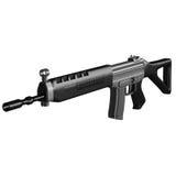 Rifle SG553 ilustração royalty free