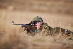 Rifle Shooting Royalty Free Stock Photo