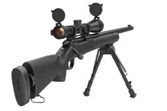 Rifle sniper optical scope Royalty Free Stock Photos