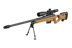 Rifle sniper scope Royalty Free Stock Photos