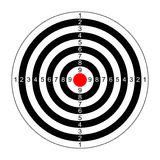 Rifle target vector royalty free illustration