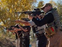 Rifle Training Stock Photos