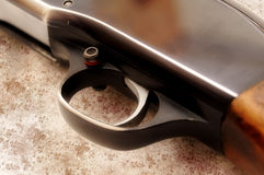 Rifle trigger Royalty Free Stock Photos