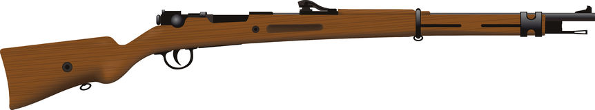 Rifle viejo Imagenes de archivo