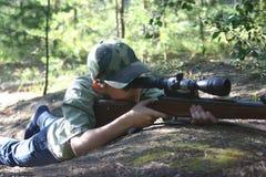 Rifleman Image libre de droits