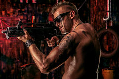 Rifleman Lizenzfreie Stockbilder