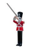Rifleman de soldat de jouet Photo libre de droits