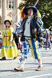 Riflemen's Parade at the Oktoberfest in Munich Royalty Free Stock Photo
