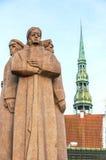 Riflemen vermelhos 01 de Riga Imagens de Stock Royalty Free