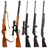 Rifles Foto de Stock