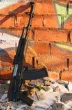 Rifles de asalto del Kalashnikov Fotografía de archivo libre de regalías