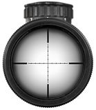 Riflescope with clipping paths Stock Photo