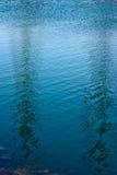 Riflessione astratta dell'acqua Fotografie Stock