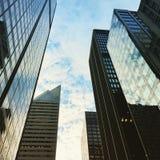 Riflessione dei grattacieli Fotografie Stock