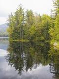 Riflessione del bacino idrico di Chittenden Fotografia Stock
