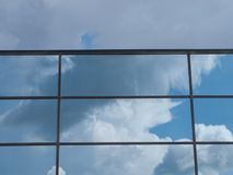 Riflessione del cielo Immagine Stock