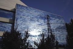 Riflessione del cielo Fotografia Stock Libera da Diritti