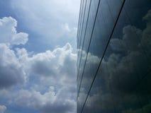 Riflessione del cielo Immagini Stock Libere da Diritti