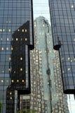 Riflessione del grattacielo Fotografia Stock