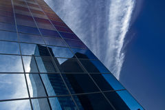 Riflessione del grattacielo Fotografie Stock Libere da Diritti