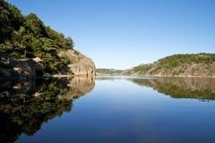 Riflessione del lago Immagini Stock