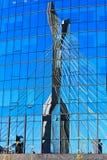 Riflessione del ponte immagine stock