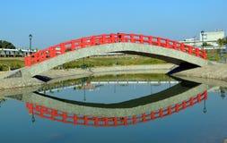Riflessione del ponte Fotografie Stock Libere da Diritti