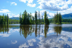 Riflessione dell'acqua Immagini Stock Libere da Diritti