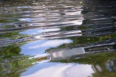 Riflessione dell'acqua Fotografia Stock Libera da Diritti