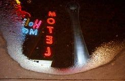 Riflessione dell'hotel della stratosfera, Las Vegas Fotografie Stock Libere da Diritti