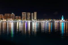 Riflessione della città cityscape fotografie stock libere da diritti