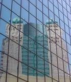 Riflessione della costruzione Fotografie Stock
