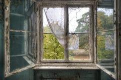 Riflessione della finestra Fotografie Stock