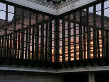 Riflessione della finestra Immagine Stock Libera da Diritti