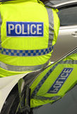 Riflessione della polizia Fotografia Stock Libera da Diritti