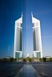 Torri degli emirati, Dubai, UAE Fotografia Stock Libera da Diritti