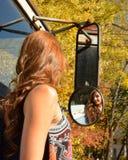 Riflessione di autunno fotografie stock libere da diritti