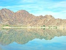 Riflessione di Cahuilla del lago fotografia stock