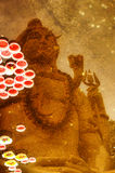 Riflessione di Lord Shiva Fotografia Stock Libera da Diritti